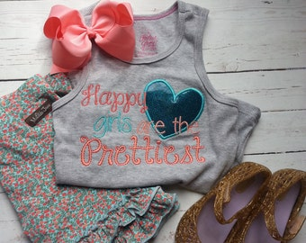 Happy girls are the Prettiest - m2m - Matilda Jane shorties