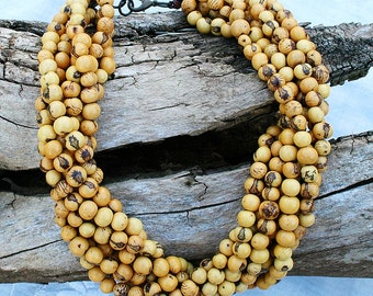 Save 35.00 - Gold Layered Acai Necklace - On Sale