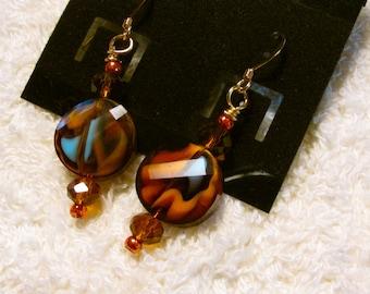 A Piece-full Harvest Earrings