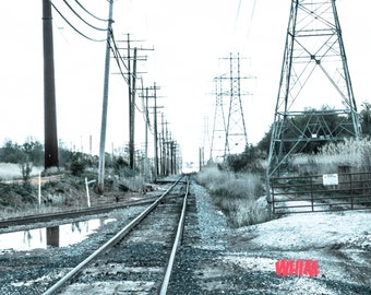 Railroad. Photography.