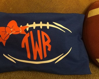 Auburn war eagle vinyl football tshirt