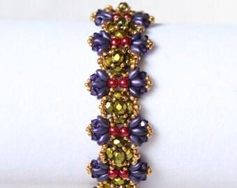 Purple Wings Bracelet