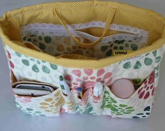 "bag organizer/pouch organizer/ Insert handbag organizer/purse organizer insert/ organizer 10""Width x3.5""depthx7.5 halt"