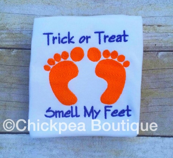 trick or treat smell my feet craft embroidery design trick or treat smell my 8157