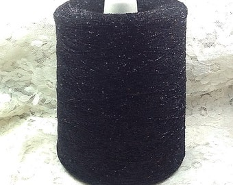 10,000 yds lb metallic frizette black nylon metallic