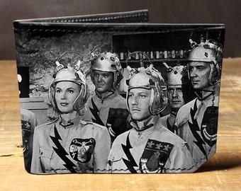 Leather wallet - mens wallet - scifi wallet