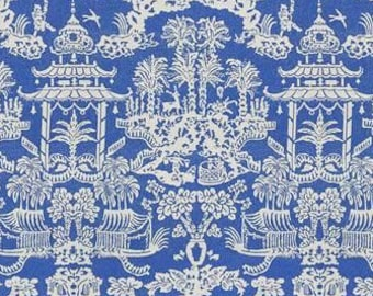 Brunschwig & Fils Chinoiserie Pillow Cover
