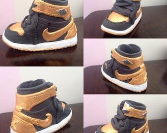J1 Sneaker Pattern Template (Jordan 1 Replica)