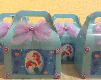 Disney Little Mermaid Ariel Birthday favor Box
