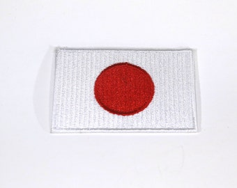 "Iron-on ""Japan flag"", applique, application (P52)"