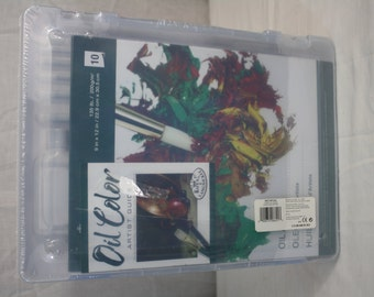"""Royal & Lang Nickel Oil Color Artist Guide 9""""x12"""" 26 Pieces"""