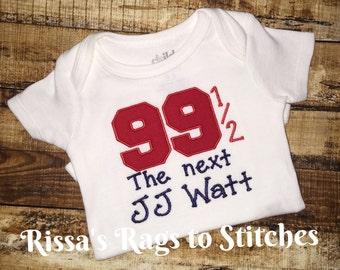 The Next JJ Watt onesie