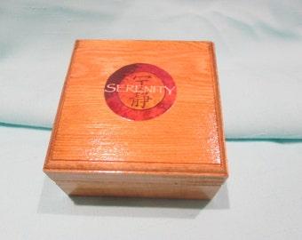 Serenity gift box - Firefly keepsake box