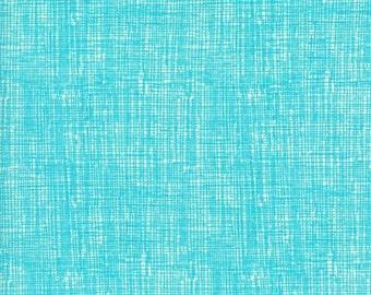 Timeless Treasures - Fun - Design #OC8224 - Modern Geometric Cross Hatch in Teal - Cotton Woven Fabric