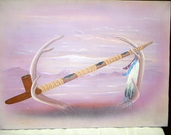 PEACE PIPE PAINTING
