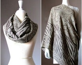 Nursing scarf, breastfeeding wrap, breastfeeding blanket, scarf nursing cover, nursing infinity scarf, wide scarf, brown scarf