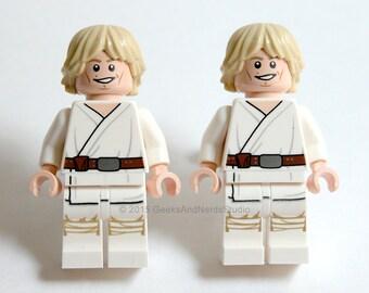 LEGO Luke Skywalker Tatooine - Groomsmen Gift - Best Man Gift - Star Wars Cufflinks - Groom Cufflinks - Wedding Cufflinks - Geek Jewerly