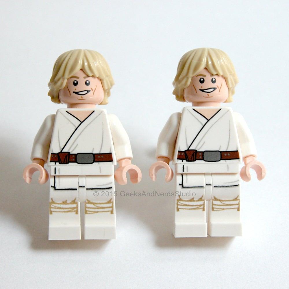 LEGO Luke Skywalker Cufflinks Star Wars by GeeksAndNerdsStudio