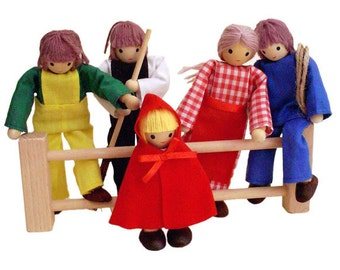 Farmers doll family