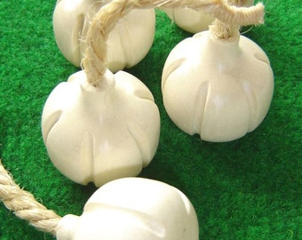 Garlic, Wooden Play Food