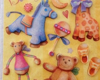 Dimensional Stickers Baby's First Friends by Marcella