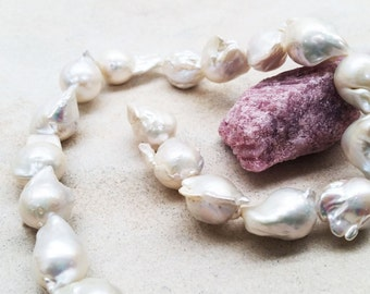 Cultured  Freshwater Pearls- large Baroque