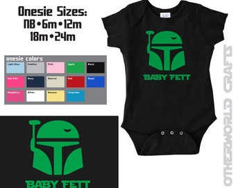 BABY FETT - Star Wars Baby Onesie - Boba Fett