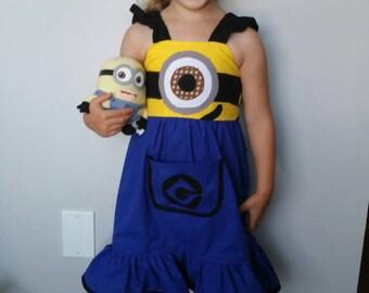 Minion inspired dress