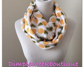 Infinity Scarf- pineapples