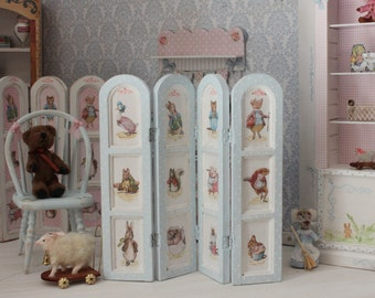 Peter Rabbit  screen for dollhouses