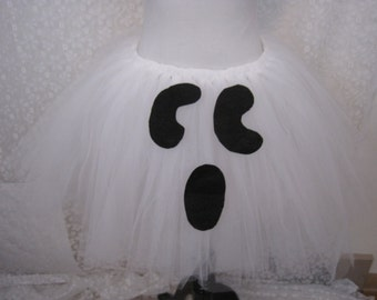 Child Ghost Tutu, Ghost Halloween Costume, Ballet Tutu, Cake Smash Tutu, Photo Prop Tutu, Halloween Tutu, Halloween Ghost, Party Tutu, Ghost