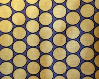 MAGGIE MAYE Fabric by Michael Miller - Citron & Gray - Huevos - Circles - Geometric - Quilting - Sewing - Grey - Home Decor