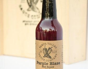 Purple Blaze Hot Sauce