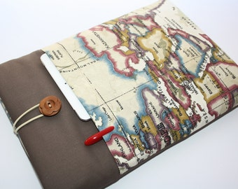 MacBook Air 13,3 Sleeve ,Mac Book PRO 13,3 cover,Microsoft surface Case Paddet Handmade ATLAS