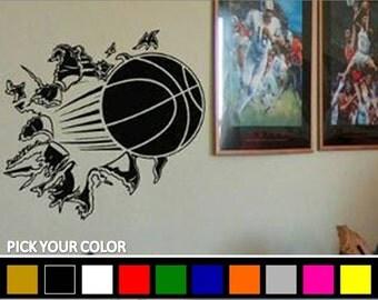 Basketball-Wall Decal