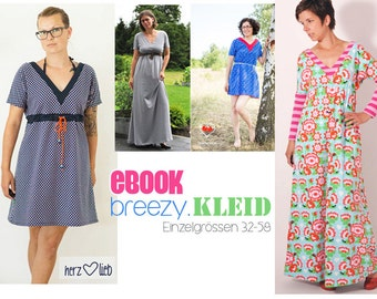 eBOOK #78 BREEZY.kleid individual sizes 32-58-only in german language