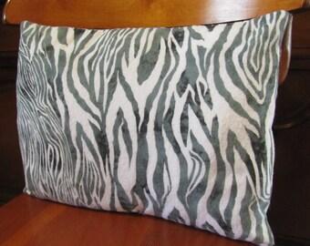 SALE! Zebra print pillow cover