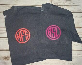 Framed Monogram T-shirt