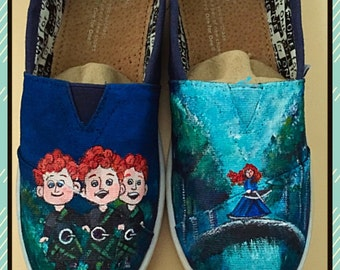 Custom made Brave Toms. Designed and personalized just for you!