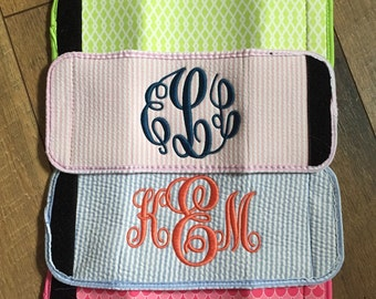 SALE // Monogrammed Neoprene Can Wrap