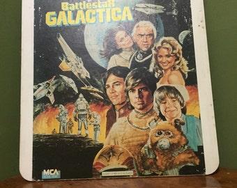 Vintage battle star galactica lazer disk