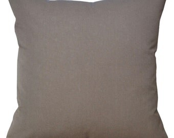 Light Brown Cushion Cover. Pillow Cover