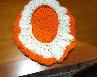 Orange creamsicle hat