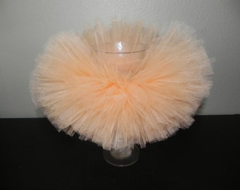 Introductory Price*** Newborn Handmade Tutu Photo Prop Bright Peach