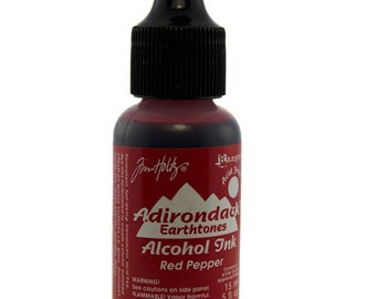 Tim Holtz Adirondack Alcohol Ink Earthtones RED PEPPER  0.5oz  (PM4049)
