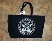 GOTHIC HORROR Tote Bag HP Lovecraft Edgar Allan Poe Mary Shelley Bram Stoker