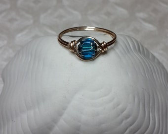 Blue cathedral ring