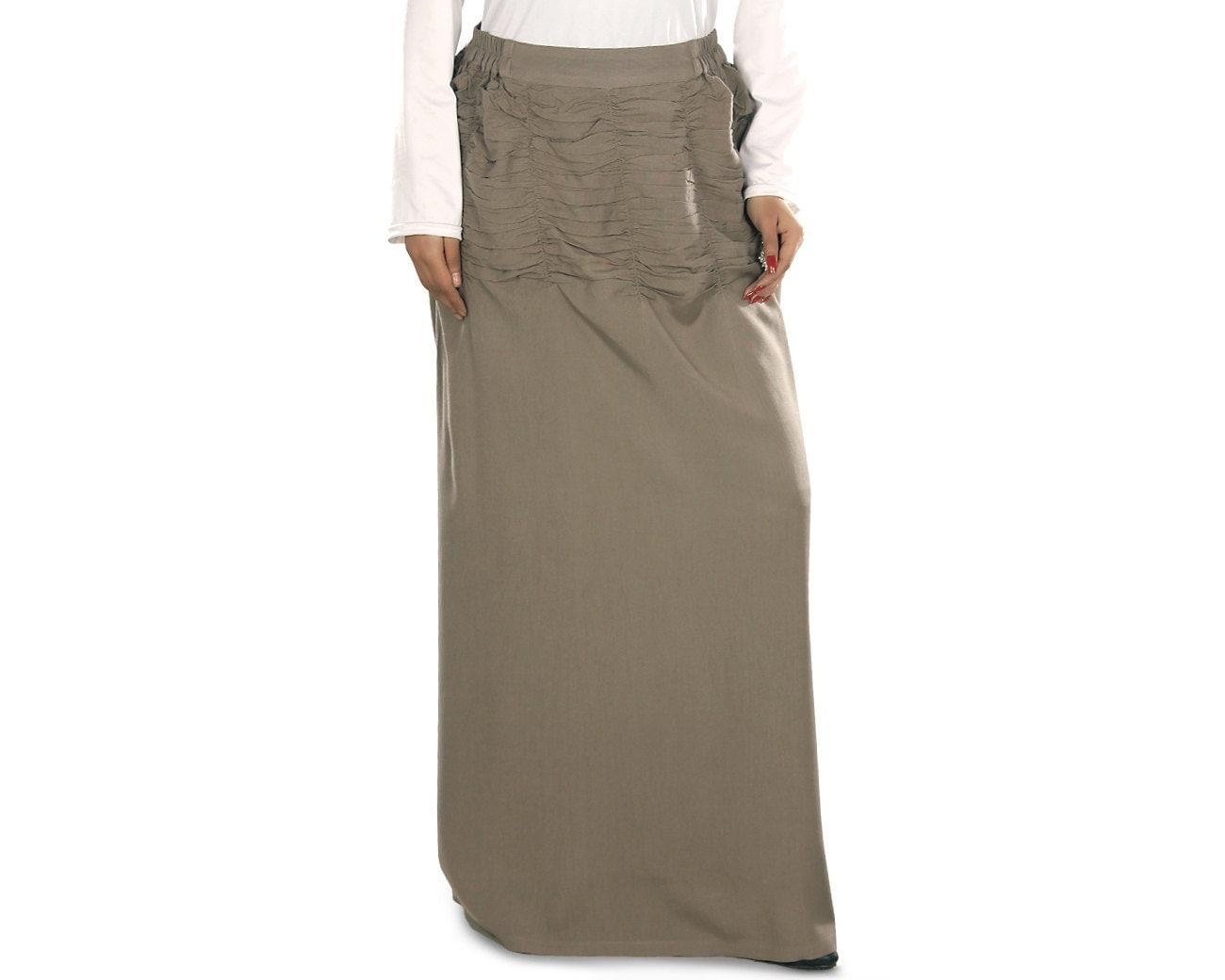 Khaki skirt | Etsy