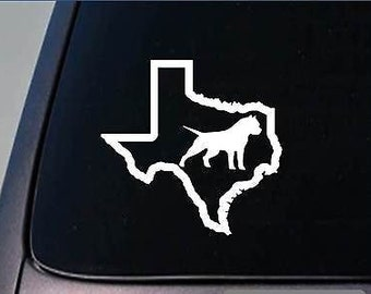 "Bully Texas Sticker *G902* 6"" Vinyl Decal Pit Bull Pitbull Bulldog Bluetri"