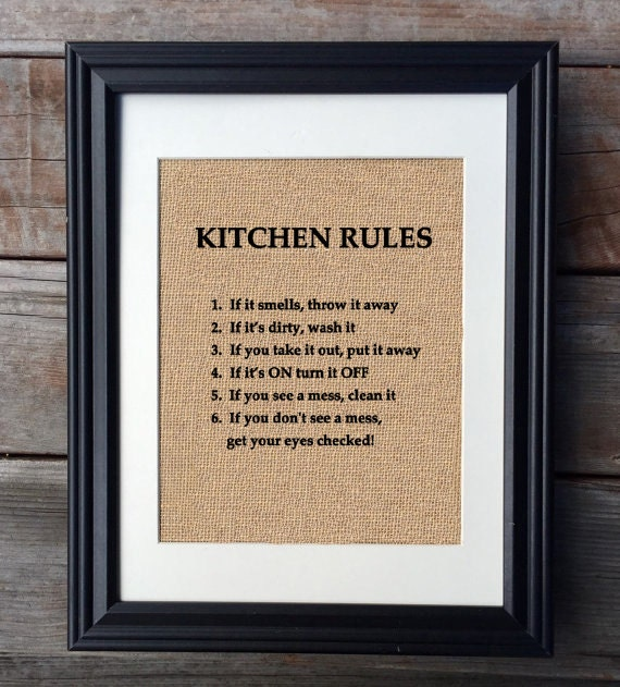 Rules of home decorating home design for Kitchen design rules